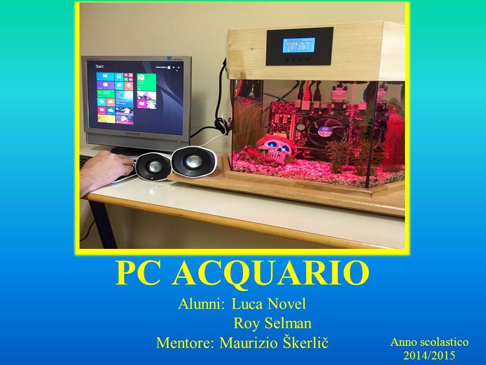 PC ACQUARIO Alunni: Luca Novel Roy Selman Mentore: Maurizio Škerlič Anno scolastico 2014/2015