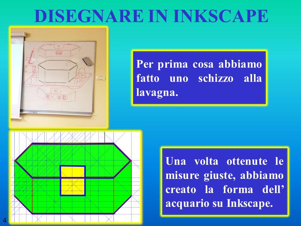 Ritagliando il pannello stampato da Inkscape. 5