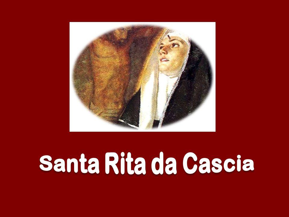 Di Rita al nome fuggono febbri, ferite e peste, morbi, dolori, dèmoni, grandine e tempeste.