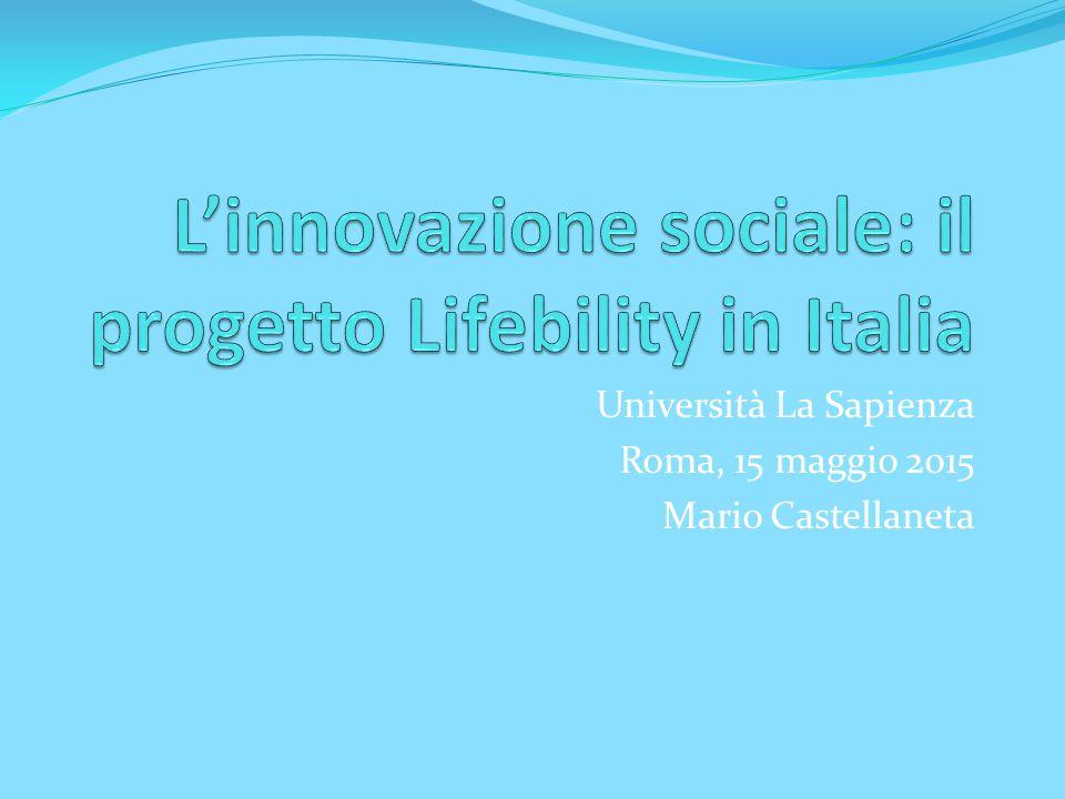 Università La Sapienza Roma, 15 maggio 2015 Mario Castellaneta
