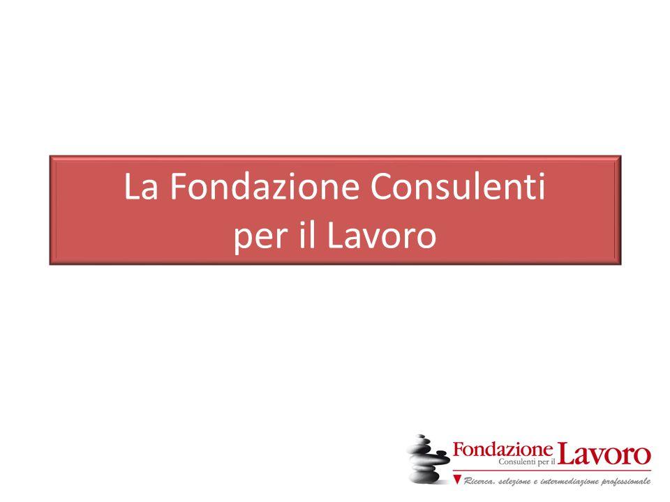 La Fondazione Consulenti per il Lavoro
