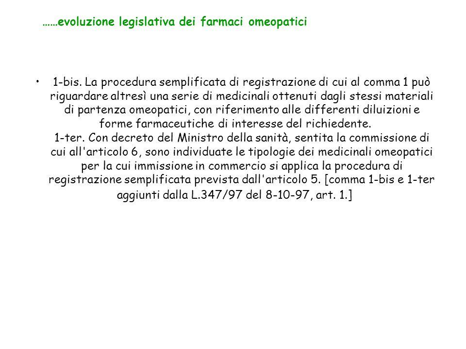 1-bis. La procedura semplificata di registrazione di cui al comma 1 può riguardare altresì una serie di medicinali ottenuti dagli stessi materiali di