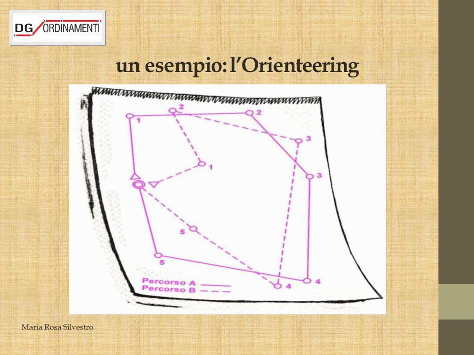 un esempio: l'Orienteering
