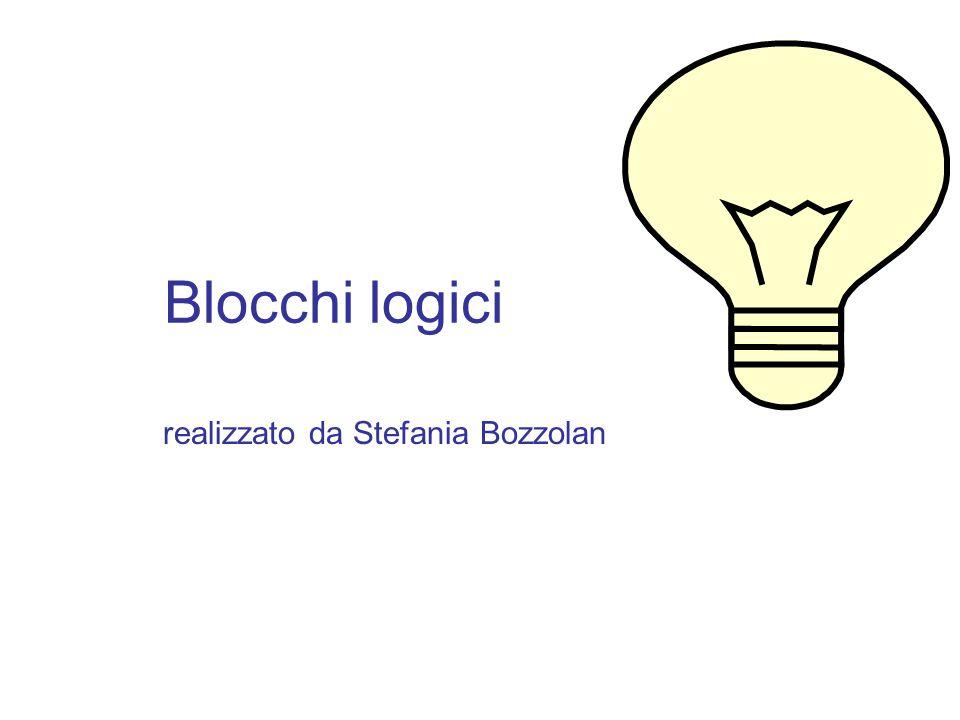 Blocchi logici realizzato da Stefania Bozzolan