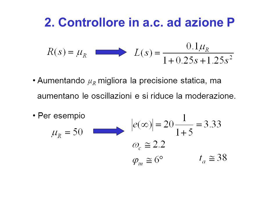 2. Controllore in a.c. ad azione P