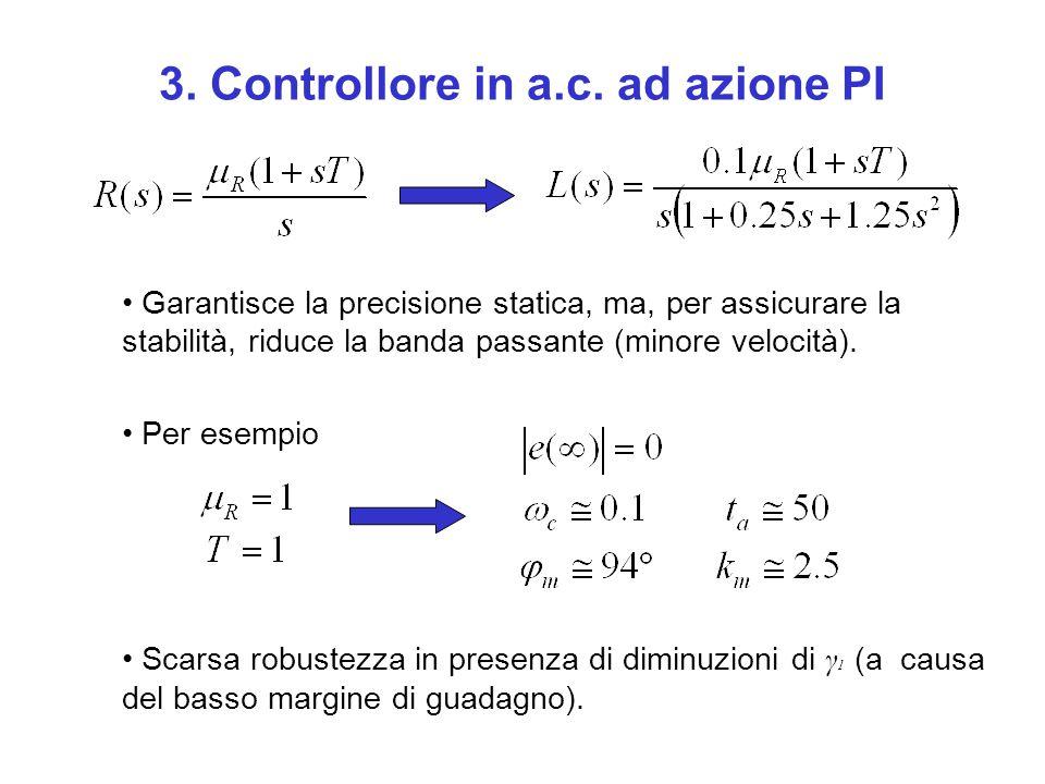 3. Controllore in a.c. ad azione PI