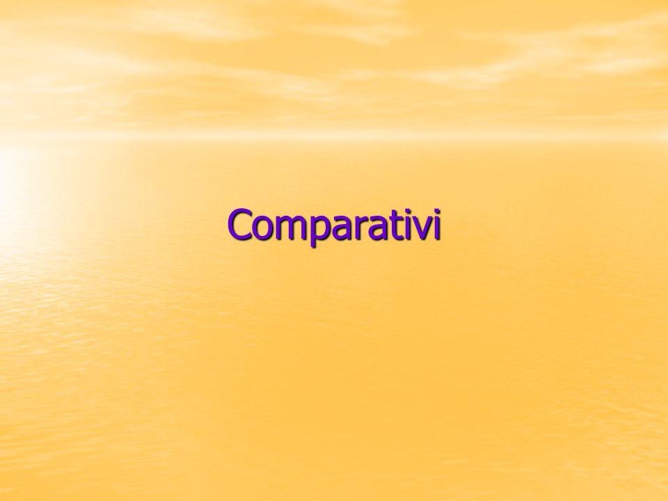 Comparativi