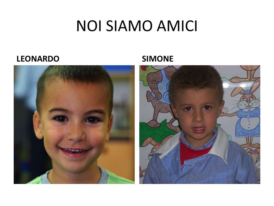 NOI SIAMO AMICI LEONARDOSIMONE