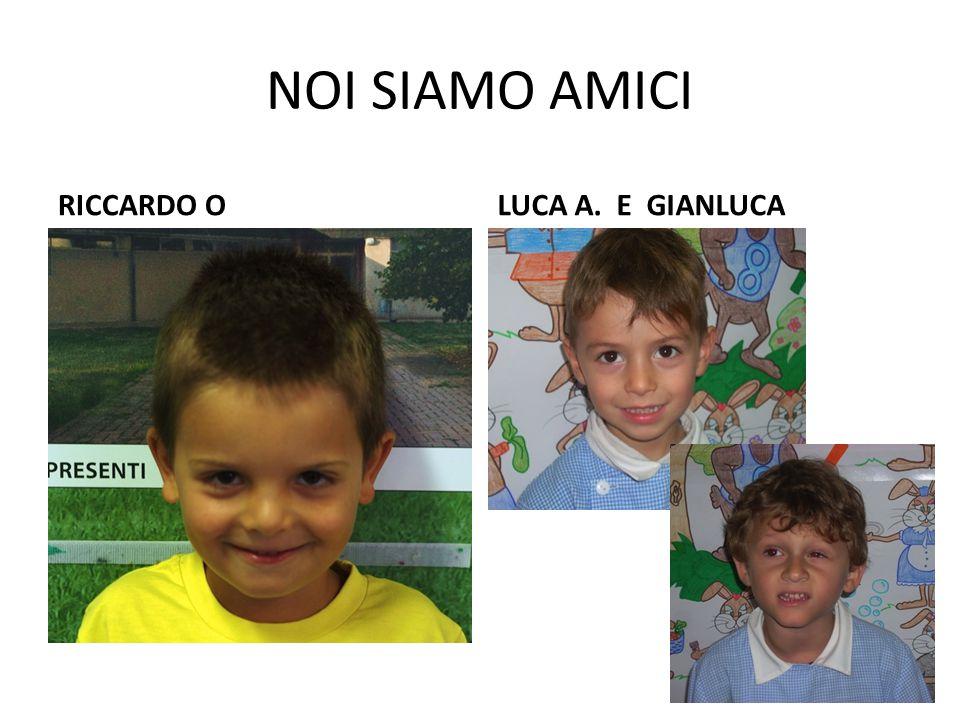 NOI SIAMO AMICI RICCARDO BCLAUDIO