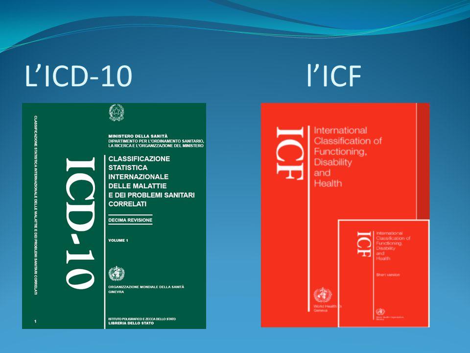 L'ICD-10l'ICF