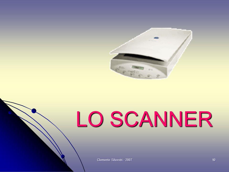 Clemente Silvestri - 200710 LO SCANNER