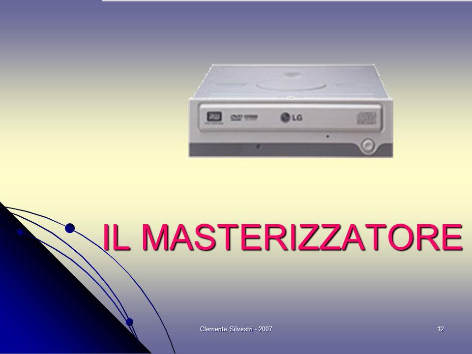 Clemente Silvestri - 200712 IL MASTERIZZATORE