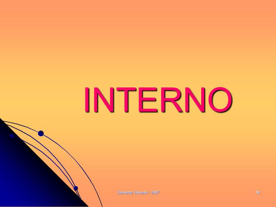 Clemente Silvestri - 200714 INTERNO