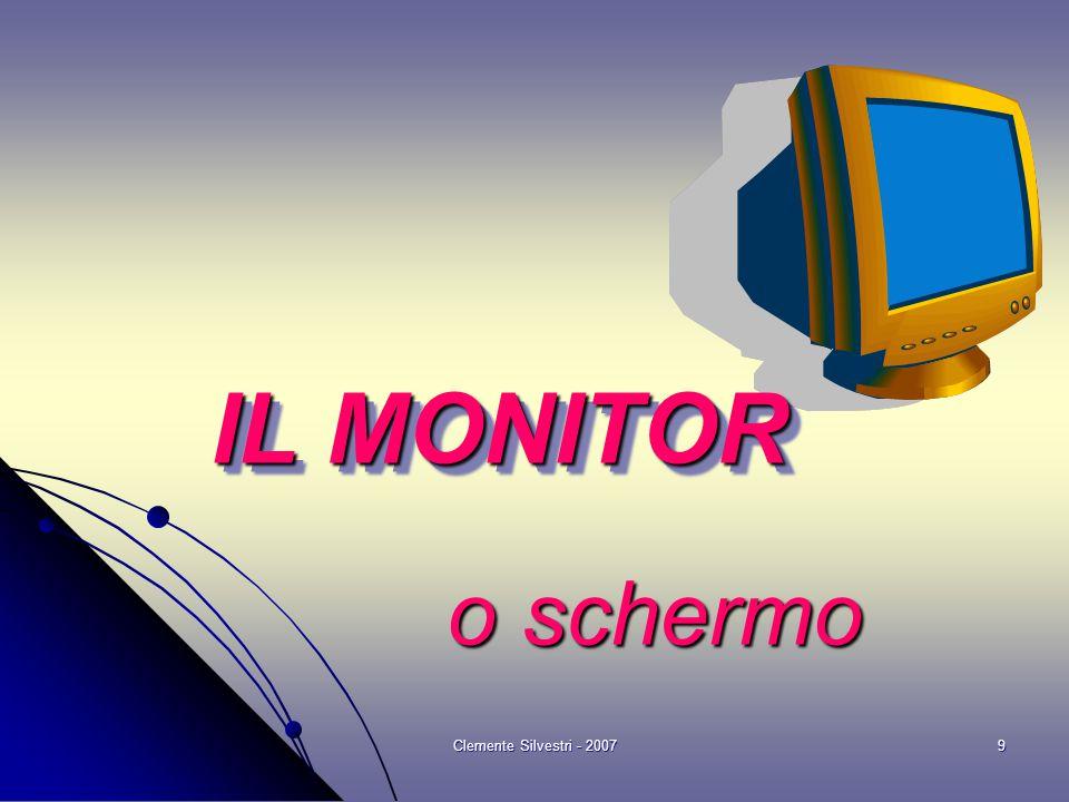 Clemente Silvestri - 20079 o schermo o schermo IL MONITOR
