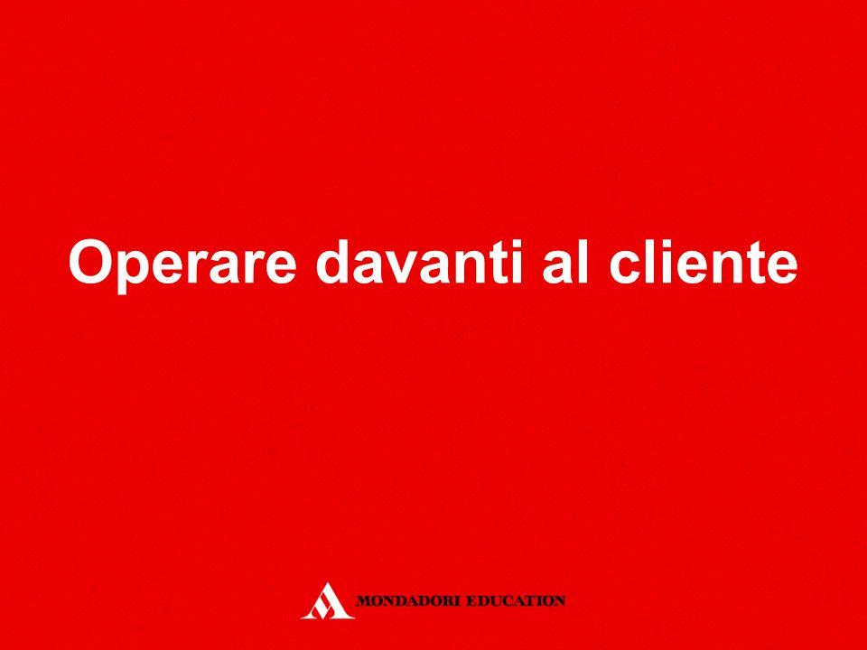 Operare davanti al cliente