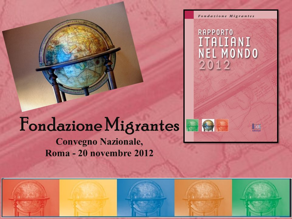 Fondazione Migrantes Convegno Nazionale, Roma - 20 novembre 2012