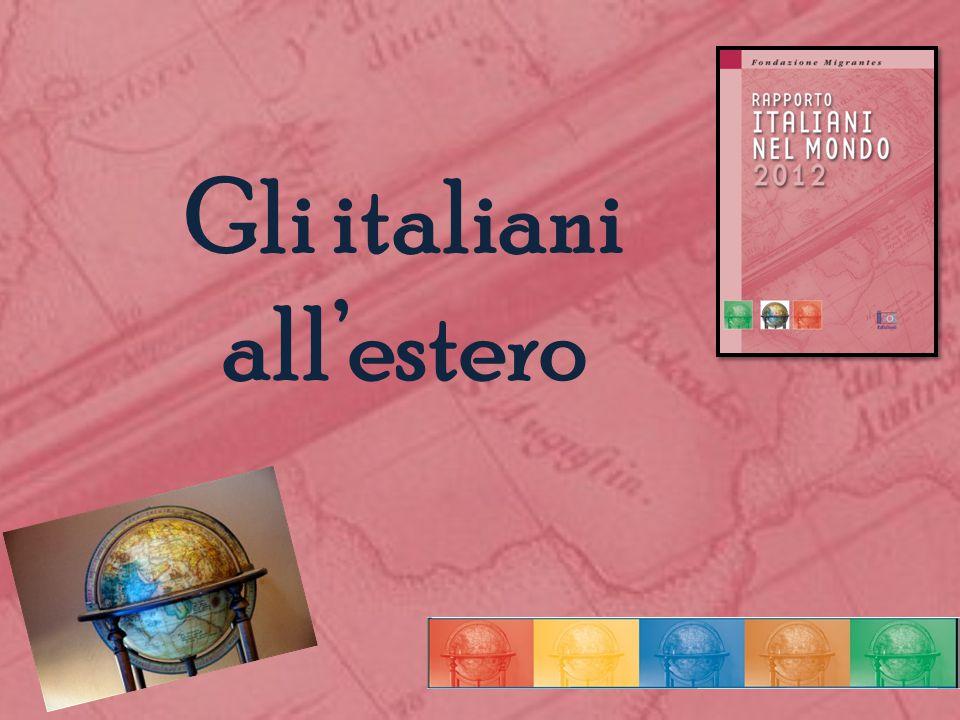 Gli italiani all'estero