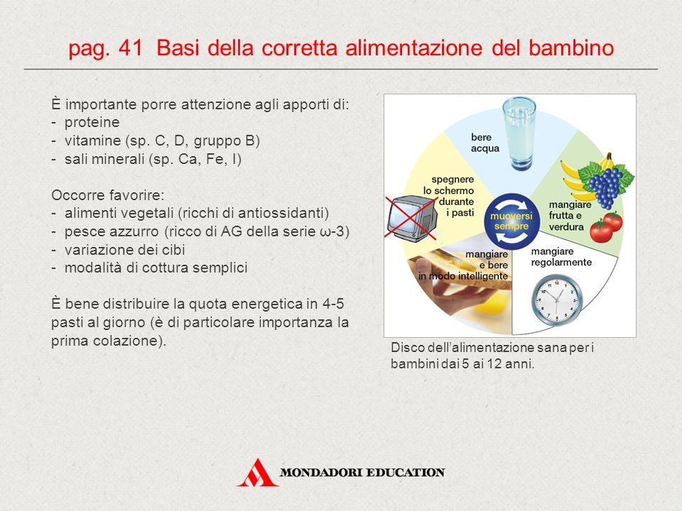 È importante porre attenzione agli apporti di: - proteine - vitamine (sp.