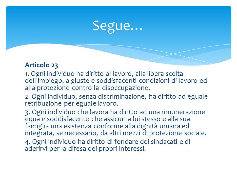 Articolo 23 1.