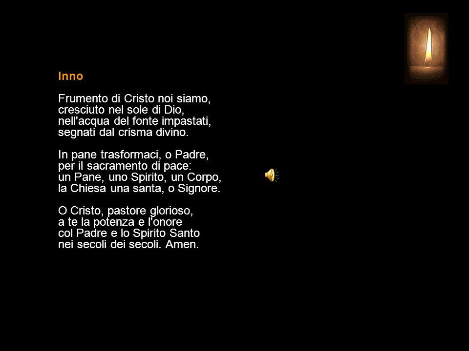4 AGOSTO 2015 MARTEDÌ - XVIII SETTIMANA DEL TEMPO ORDINARIO SAN GIOVANNI MARIA VIANNEY Sacerdote UFFICIO DELLE LETTURE INVITATORIO V. Signore, apri le