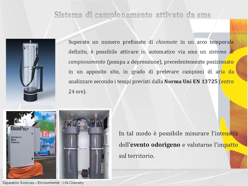 """LabService Analytica s.r.l. Separation Sciences – Environmental - Life Chemstry AVREBBERO POTUTO """"SENTIRE"""" HANNO REALMENTE """"SENTITO"""" Quindi, all'inter"""
