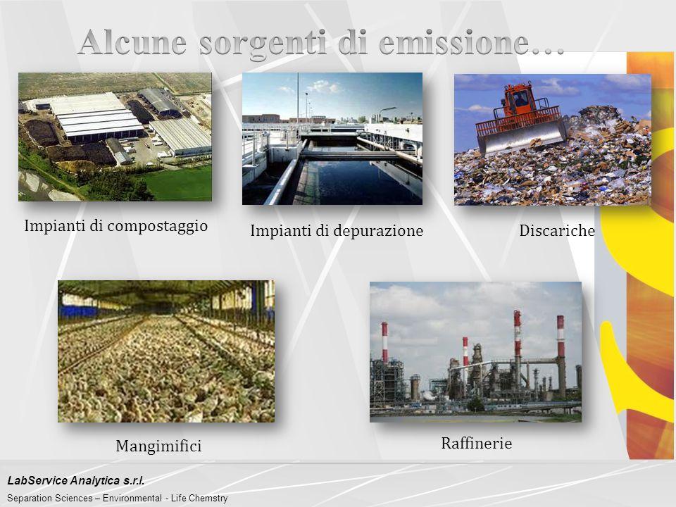 LabService Analytica s.r.l. Separation Sciences – Environmental - Life Chemstry Il 'Progetto ODORPREP' nasce dall'esigenza delle Aziende a rischio osm