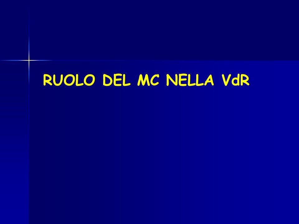 RUOLO DEL MC NELLA VdR