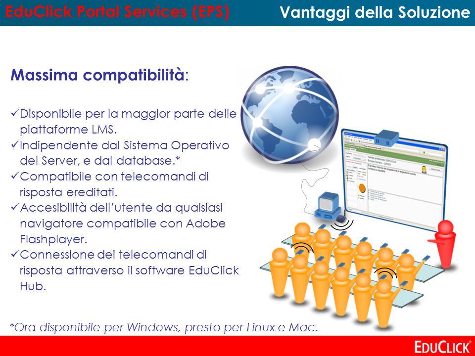 Massima compatibilità : Disponibile per la maggior parte delle piattaforme LMS.