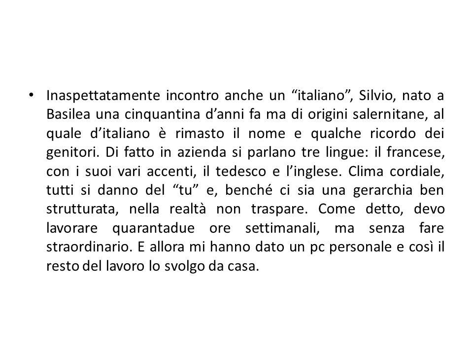 Fin de la traduction faite le 8 avril Friburgo è una cittadina di trentamila abitanti, gli stessi del mio paese nell'hinterland di Napoli, ma il paragone non mi azzardo minimamente a farlo.
