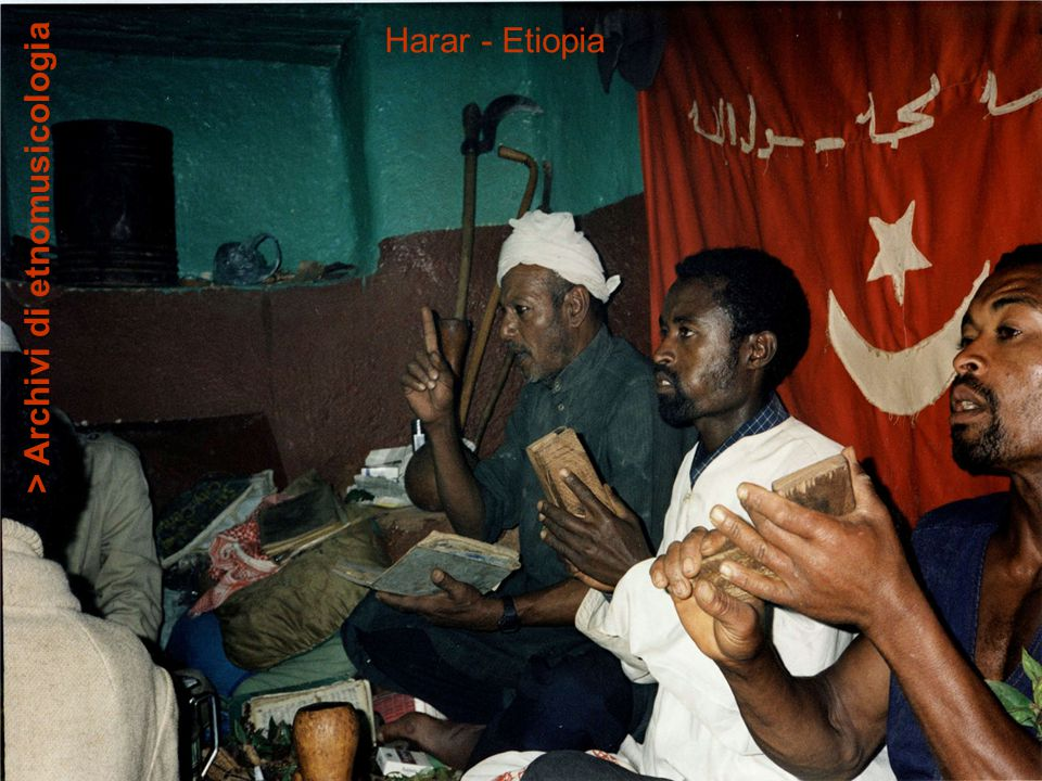 Harar - Etiopia > Archivi di etnomusicologia