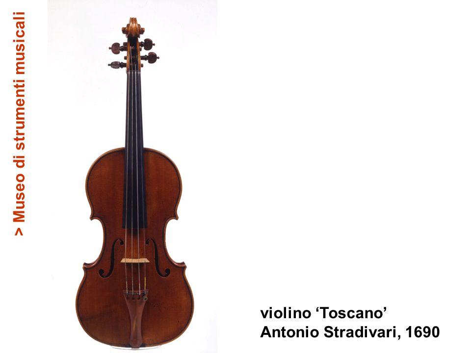 violino 'Toscano' Antonio Stradivari, 1690