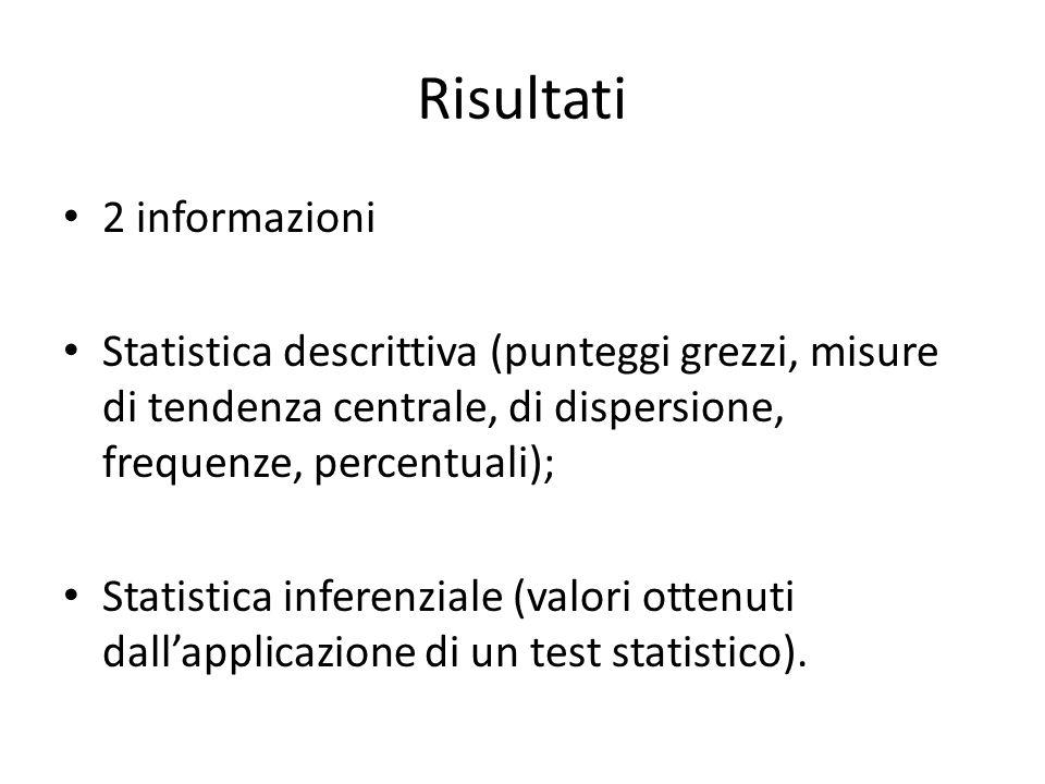 La statistica descrittiva elabora dati per descrivere fenomeni; La statistica inferenziale stima le caratteristiche di un fenomeno che si riferisce a una popolazione a partire dall'analisi delle caratteristiche di un campione.