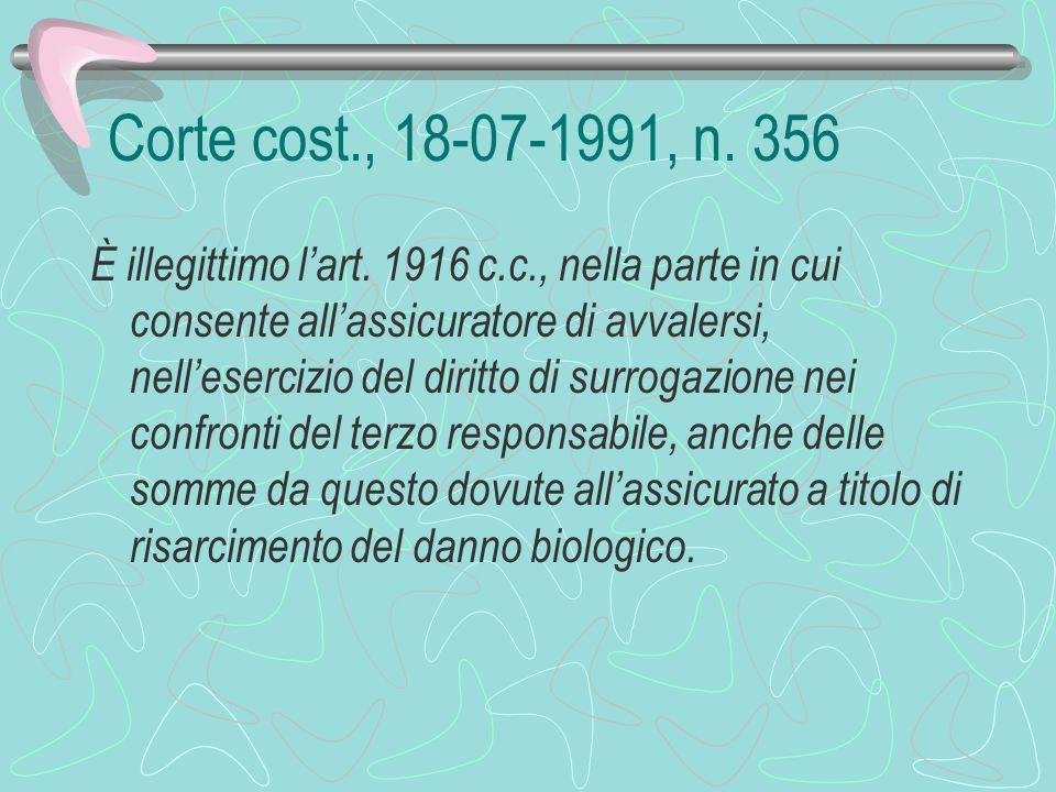 Corte cost., 27-12-1991, n.485. È illegittimo, per violazione dell'art.