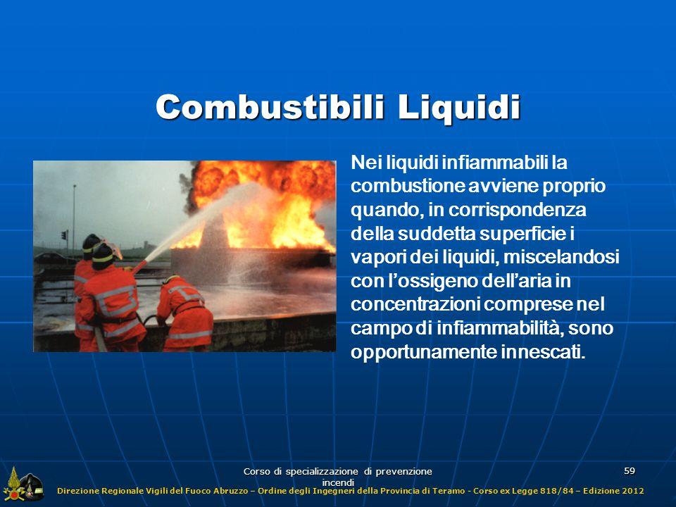 Direzione Regionale Vigili del Fuoco Abruzzo – Ordine degli Ingegneri della Provincia di Teramo - Corso ex Legge 818/84 – Edizione 2012 Corso di specializzazione di prevenzione incendi 90 VALORI DI IDLH DI ALCUNE SOSTANZE TOSSICHE CHE POSSONO LIBERARSI DURANTE UN INCENDIO 2 Fosgene (COCl 2 ) 2.000 Acetaldeide (C 2 H 4 O) 300 Ammoniaca (NH 3 ) 100 Anidride Solforosa (SO 2 ) 50 Acido Cianidrico (HCN) 40.000 Anidride carbonica (CO 2 ) 1.200 Monossido di Carbonio (CO) IDLH (ppm)Sostanza
