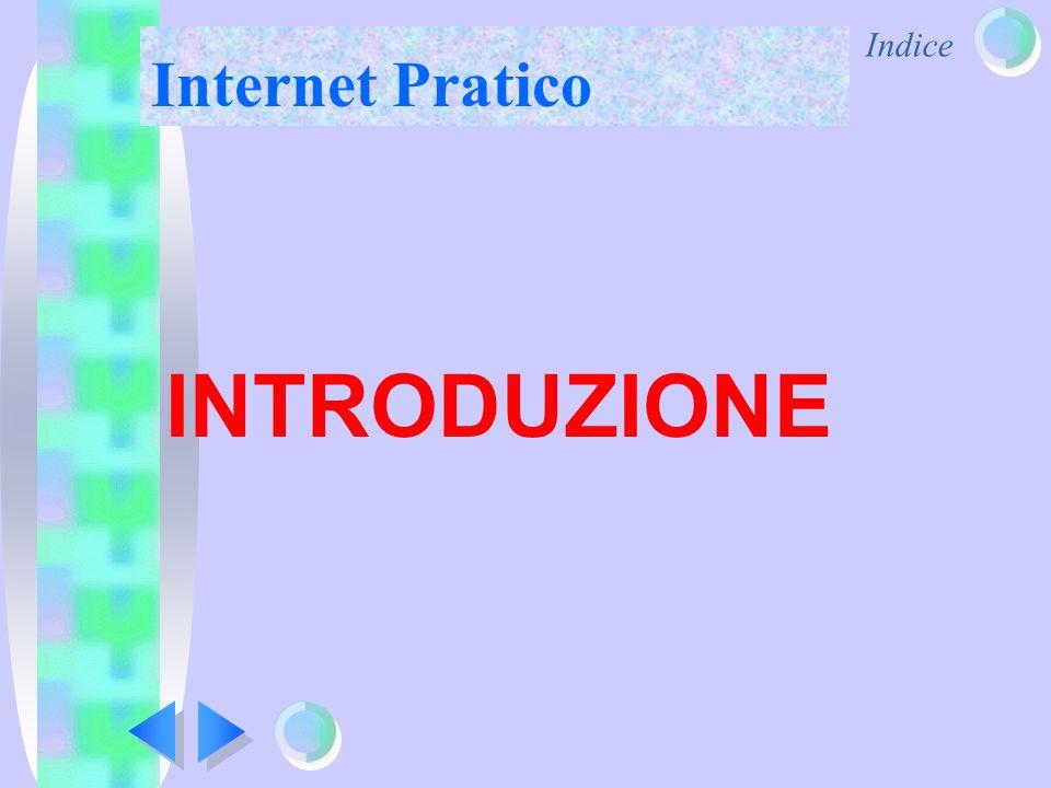 Indice Internet Pratico INTRODUZIONE