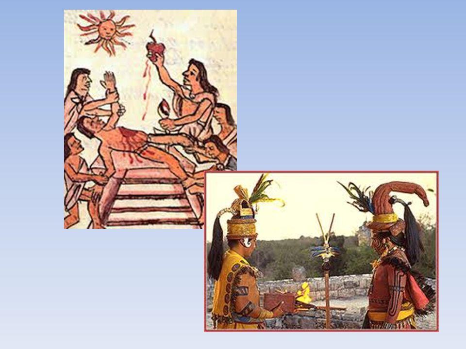 La religione L'universo maya, era travagliato dalla perenne lotta fra le potenze del male e del bene. Il bene portava la pioggia, la fertilità e l'abb