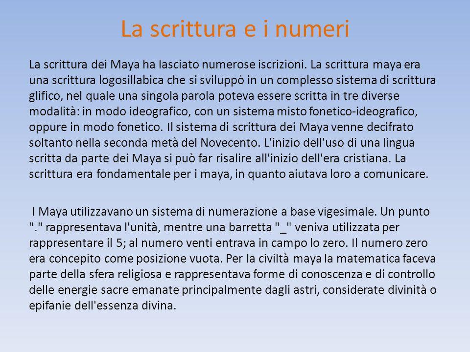 I tre periodi in cui viene divisa la storia dei maya Il Periodo Preclassico, che va dal 1500 a.C. al 317 d.C. secondo alcuni, e dal 1000 a.C. o dal 18