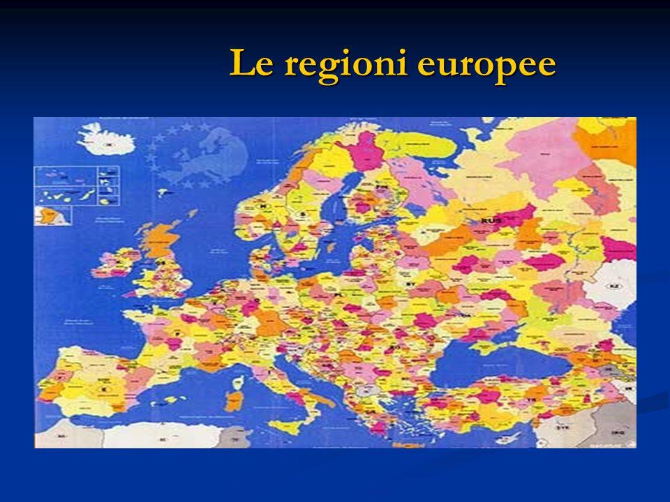 Le regioni europee