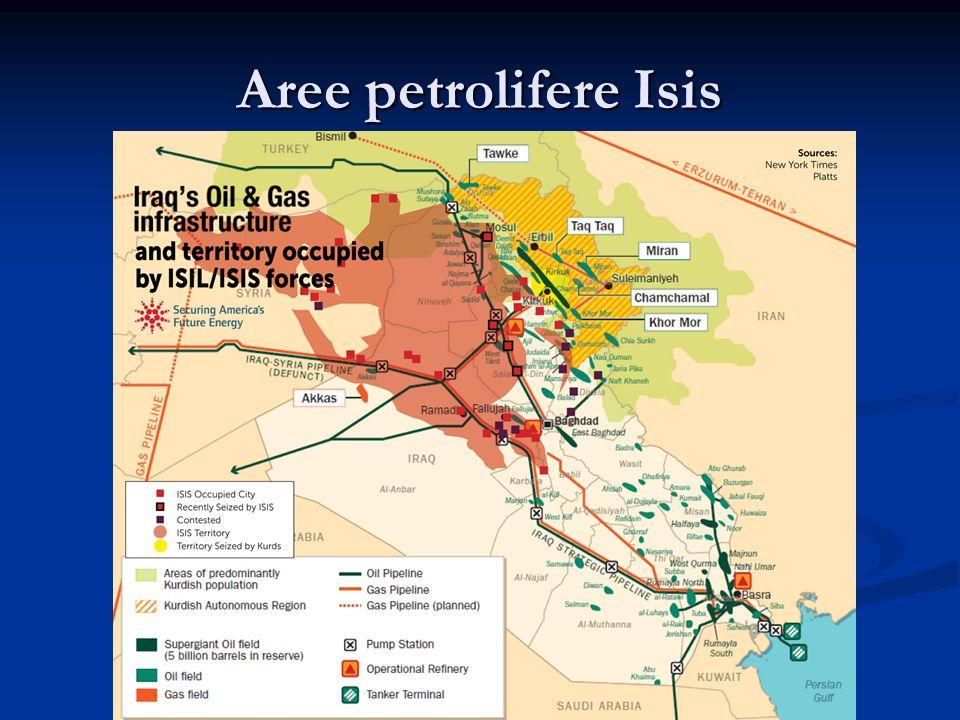 Aree petrolifere Isis