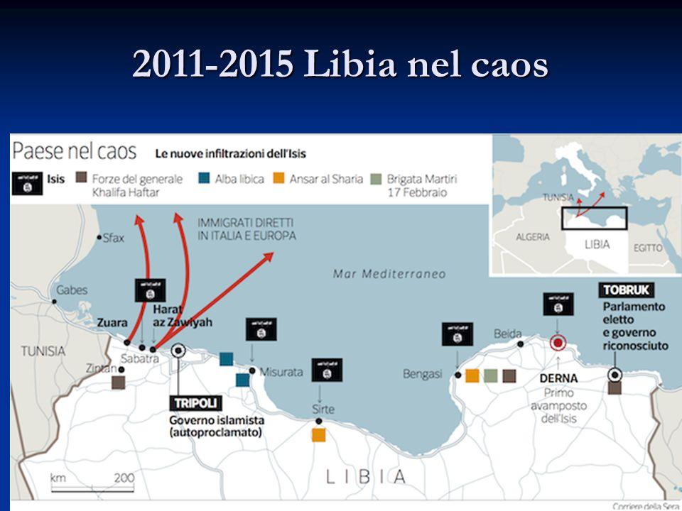 2011-2015 Libia nel caos