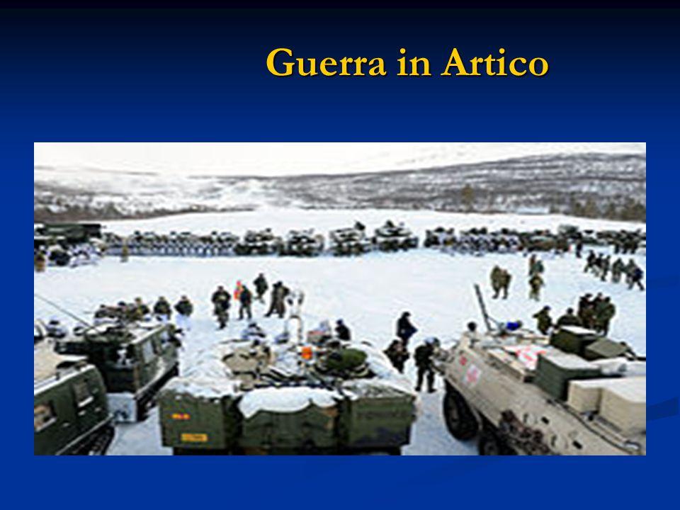 Guerra in Artico