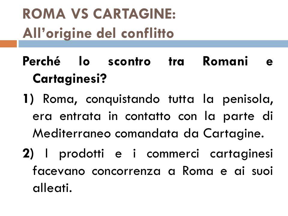ROMA CONQUISTA IL MEDITERRANEO LE CONSEGUENZE INTERNE DELL'ESPANSIONISMO