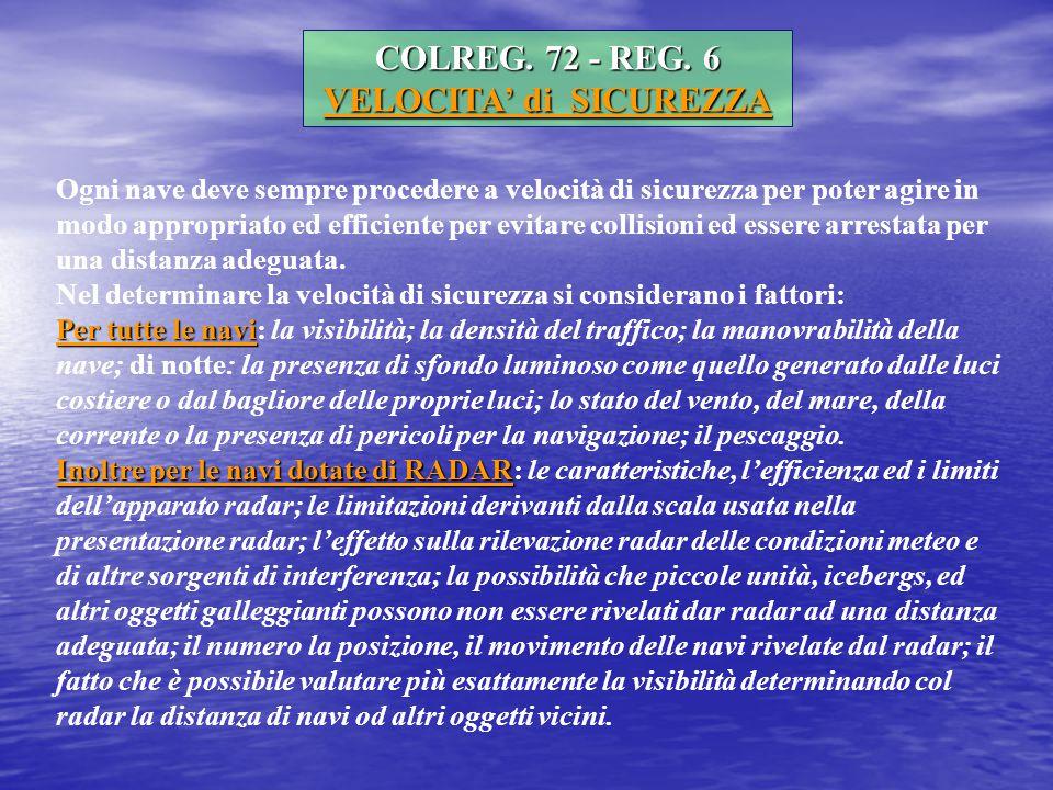 COLREG.72 - REG.