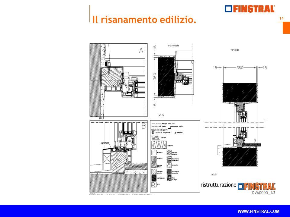 14 www.finstral.com © WWW.FINSTRAL.COM Il risanamento edilizio.