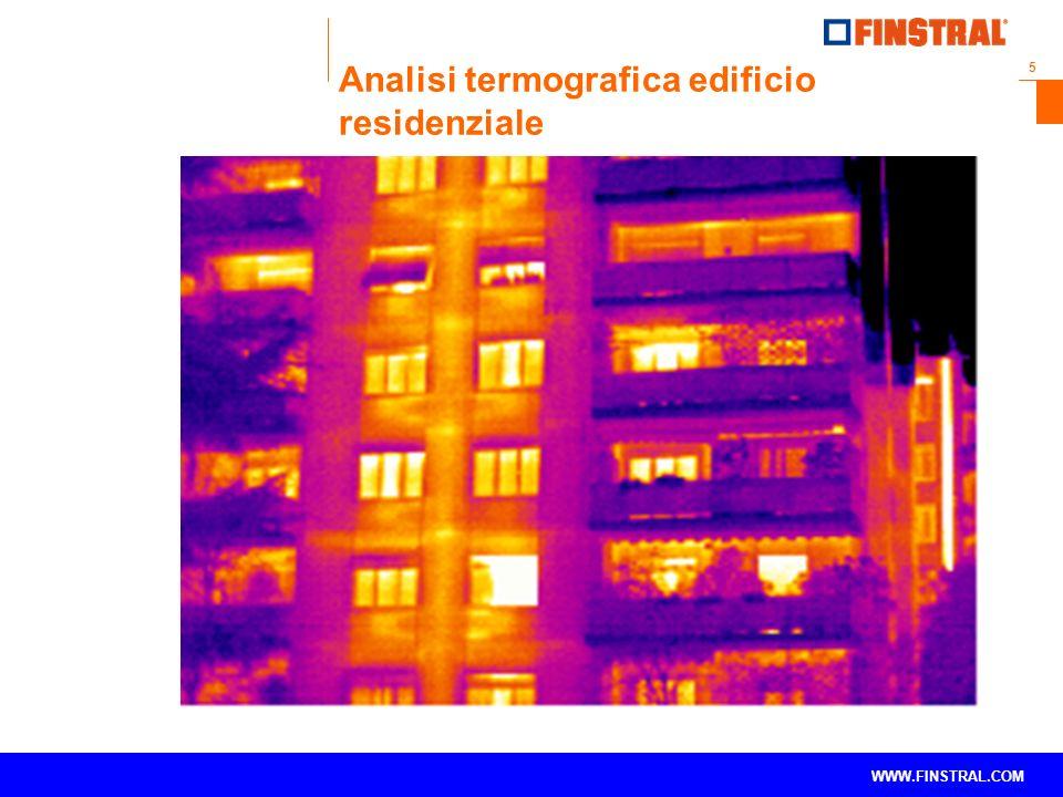 5 www.finstral.com © WWW.FINSTRAL.COM Analisi termografica edificio residenziale
