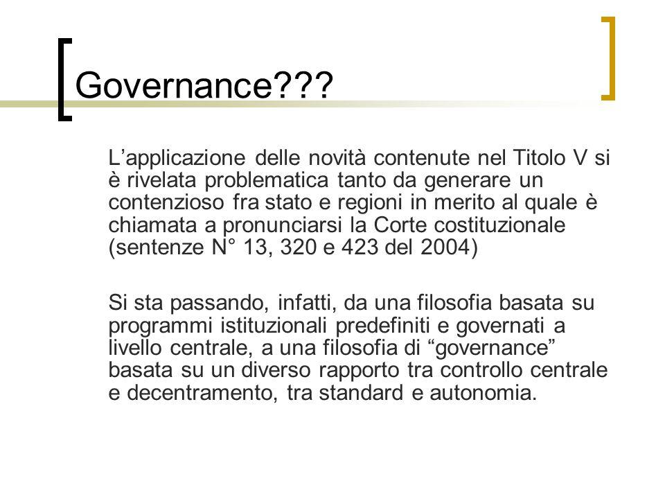 Governance .