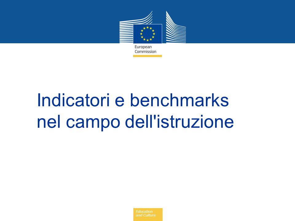 Education and Culture Semestre europeo: Raccomandazioni della Commissione all Italia (2012-2015)
