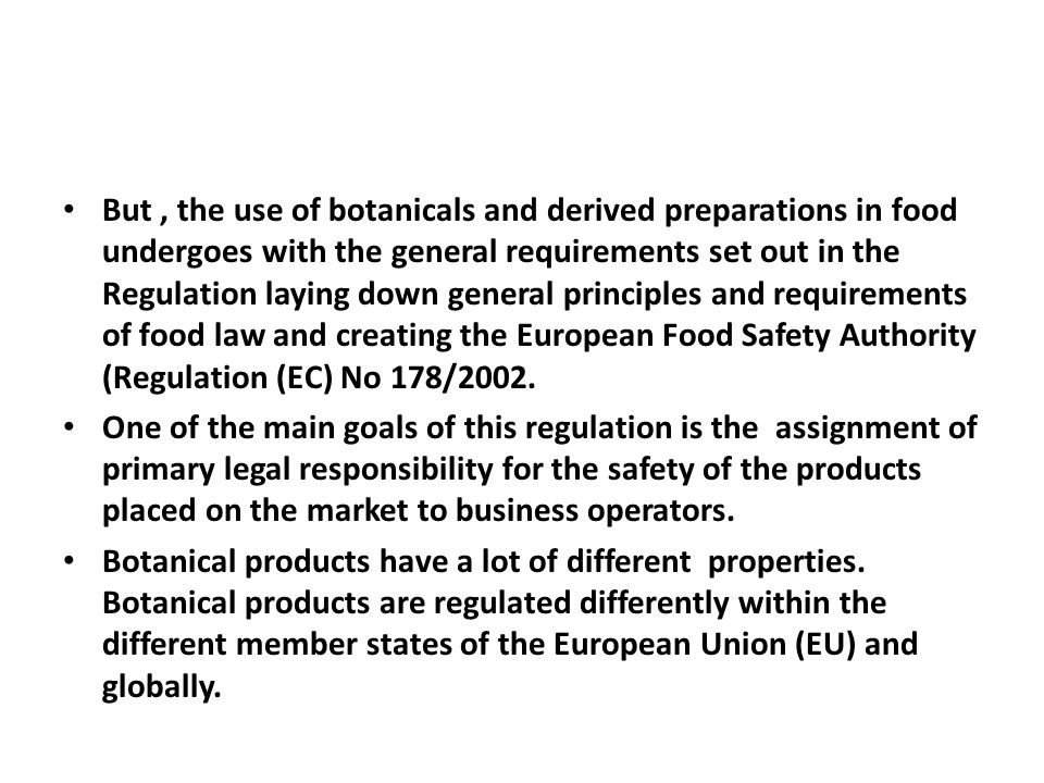 This requires that, before 12 July 2007, the European Commission submits a report on the advisability of establishing specific rules including, where appropriate, positive lists on categories of nutrients or substances with a nutritional or physiological effect