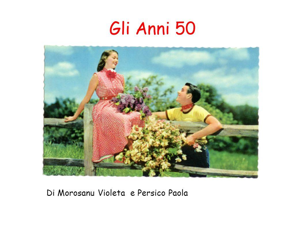Indice Gli anni 50 L acconciatura La figura Femminile L Italia e la sua moda La gonna Stilisti