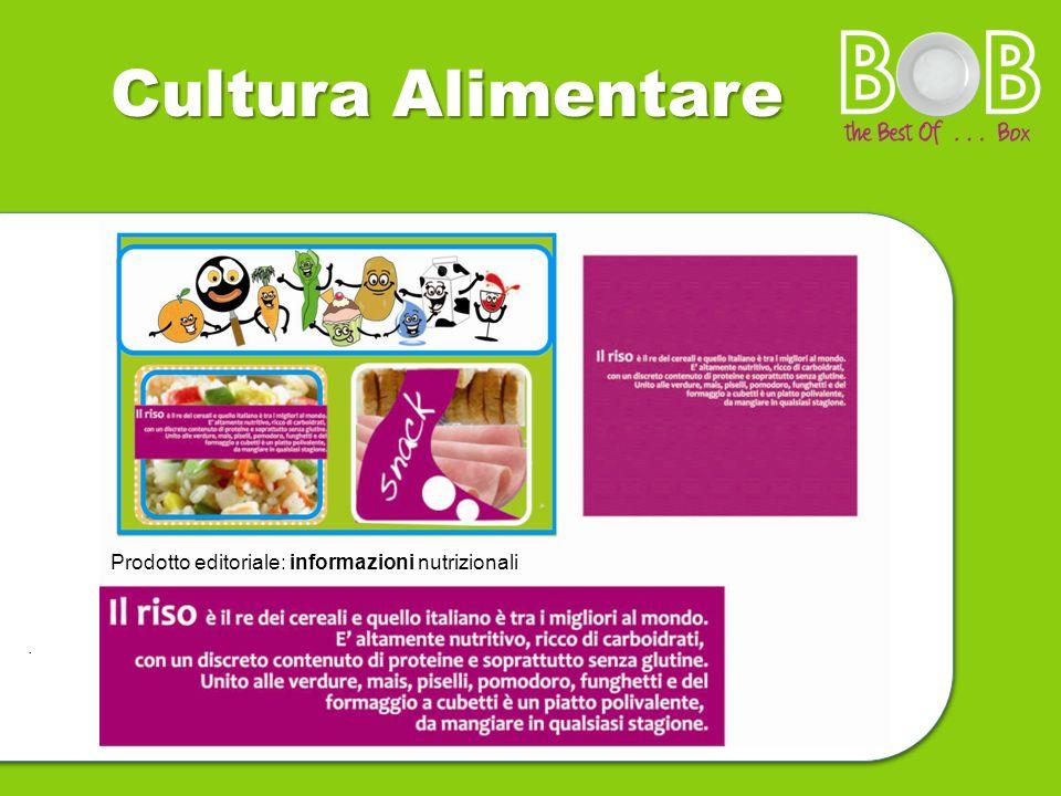 cccaaa Cultura Alimentare. informazioni Prodotto editoriale: informazioni nutrizionali